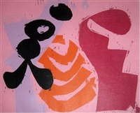 pink basket by charlie hewitt