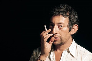 serge, chemise rayée, rue verneuil by serge gainsbourg