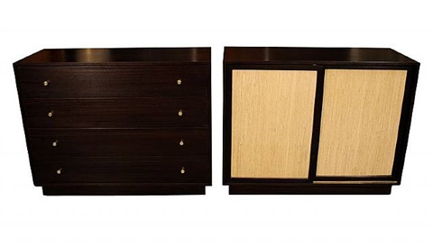 dressers, circa 1960's by harvey probber