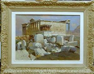 erechteion (sold) by alexei vasilievitch hanzen