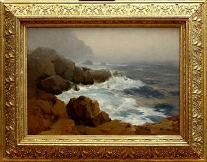 seascape (sold) by alexei vasilievitch hanzen