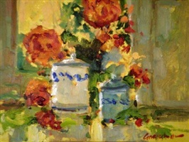floral still life ii by ted goerschner