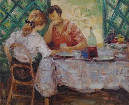 conversation avec claudine by marcel dyf