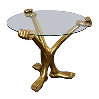 'hand-foot' coffee table by pedro friedeberg