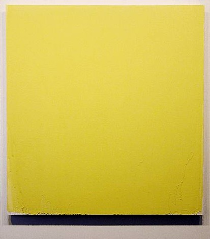yellow painting by joseph marioni