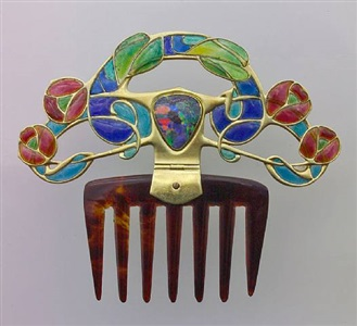 an important diadem comb for liberty & co. by archibald knox