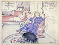 leisure by marguerite thompson zorach