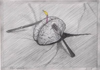 the brain as food by jan fabre