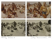 coney island (mixed couple) by eve sonneman