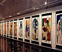 mother teresa series by maqbool fida husain