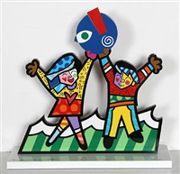 prototype for children's museum by romero britto