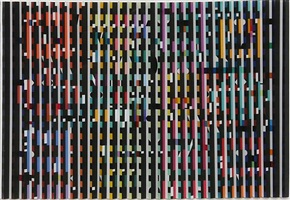 midnight light by yaacov agam