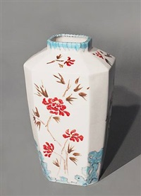 chinoiserie vase by andré dubreuil