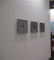 booth view hk art fair - chen wenji