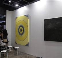 booth view hk art fair - jiang fang (left)