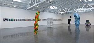 installation view: asdfjkl by rachel harrison