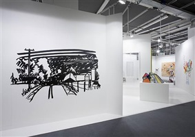 installation view art basel