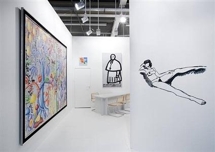installation view art basel