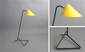 standing lamp for hala by h.th.ja. busquet
