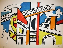 the city by fernand léger