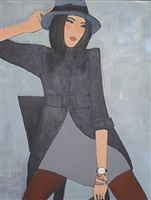 girl with trilby by juliette mcgill