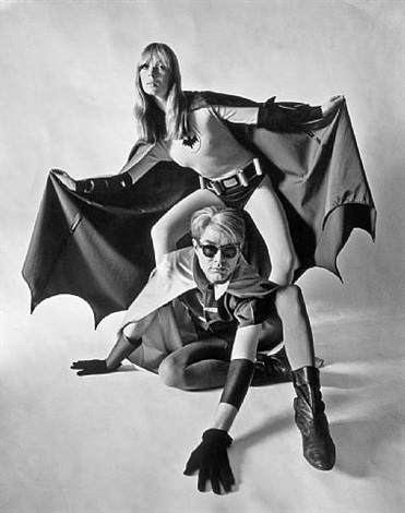 batman & robin by nico and andy warhol