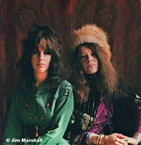 janis & grace, san francisco, 1967 by jim marshall