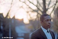 coltrane at sunset, queens, ny, 1963 by jim marshall