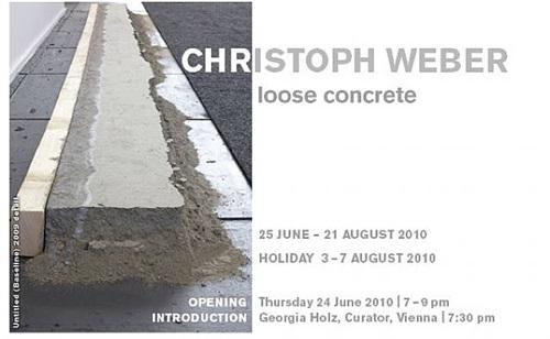 christoph weber 'loose concrete'