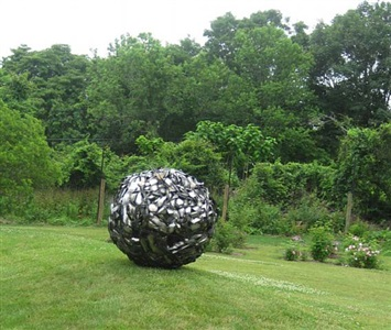 uncommon ground - an outdoor sculpture exhibition hosted by bridge gardens by isobel folb sokolow