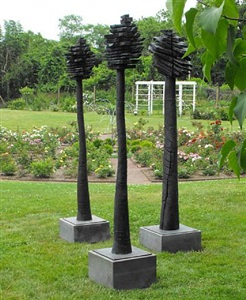bronze trees by jim henderson