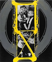 painted-contact gun 1 by william klein