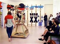 performance 'tanzschule für eine marionette' by suse weber