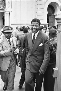 nelson mandela treason trial, south africa, 1958 by jürgen schadeberg