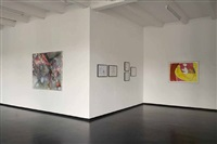 installation view: dasha shishkin 'hybrid' by dasha shishkin