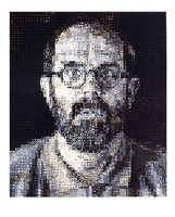 self portrait 95 by chuck close