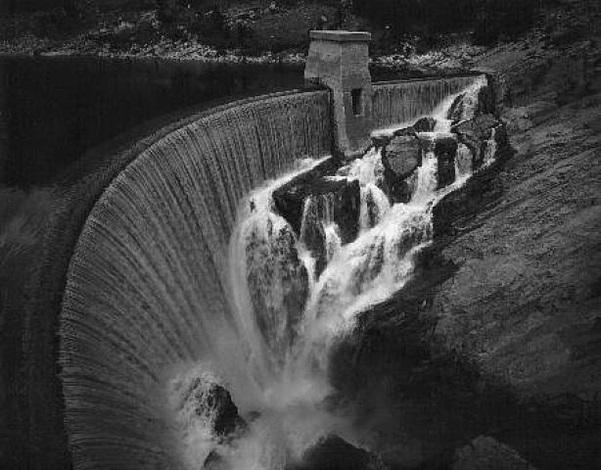 grand coulee dam, wa, by toshio shibata