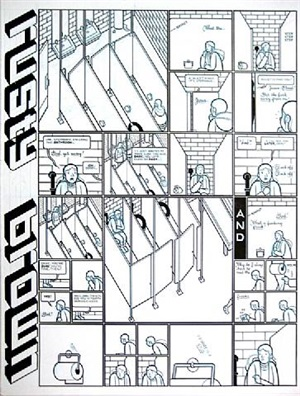 rusty brown- alice in the girl's room by chris ware