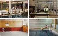 set of 4 photographs by daniela steinfeld