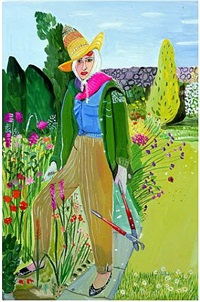 lady birley by maira kalman