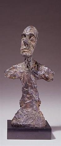 buste de diego, new york ii by alberto giacometti