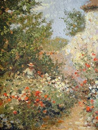 the summer garden (sold) by laurence a. campbell