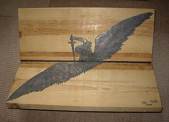 l'angelo vendicatore by mario ceroli