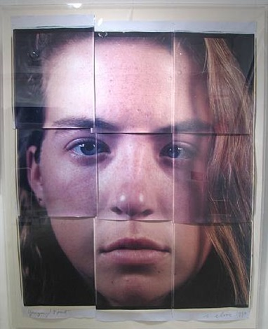 georgia ( 9 part) by chuck close