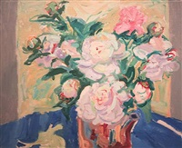 peonies by nell blaine