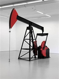 untitled (oil rig no. 2) by josephine meckseper