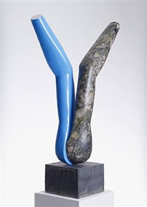 sculpture 2 by gary hume