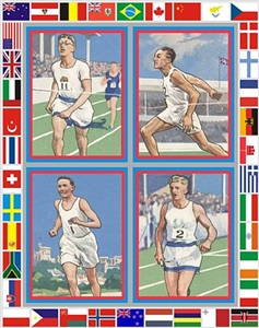 four runners by peter blake