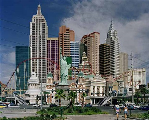 new york, new york hotel, las vegas nv by robert polidori