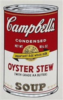 campbell's soup can ii - oyster stew by andy warhol